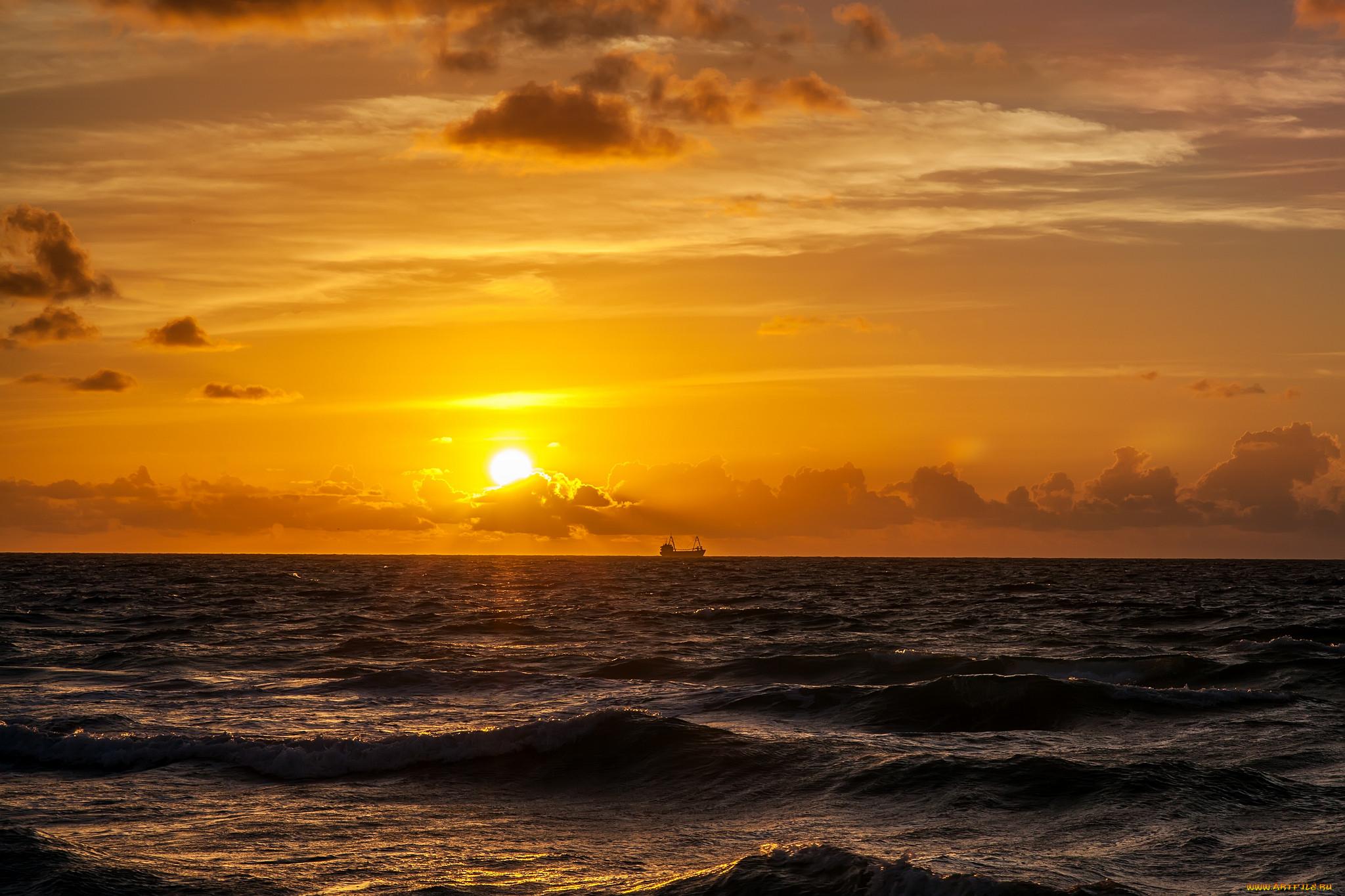 закат на море закат на океане все картинки стала